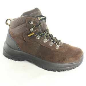EARTH SHOE Ashland Brown Womens Hiking Trail Boots